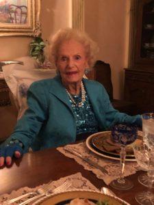 Ruth H Buchanan at 101 years birthday